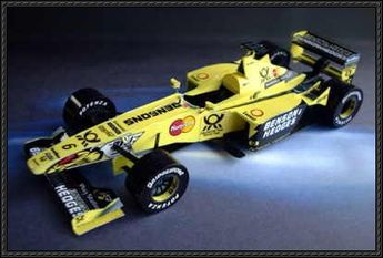 F1 Paper Models - Mugen-Honda Jordan EJ10 Free Download