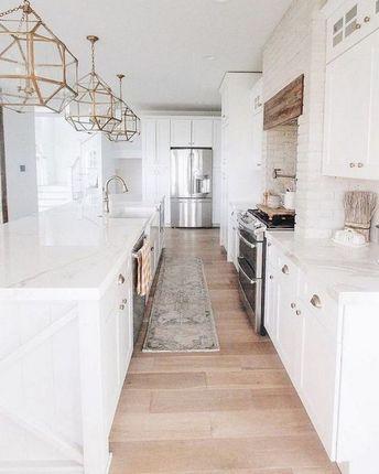 ✔80 white kitchen design ideas adding warmth 52 » Interior Design
