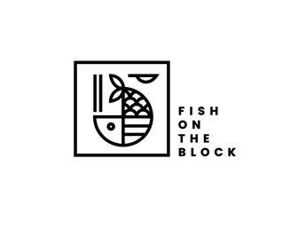 Fish On The Block Logo by Grace Ho