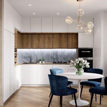 Modern Apartment by@alexey_volkov_ab 😏 #kitchen #apartment #modernkitchen #kitchendecor #decor #diningroom #interior #interiordesign…
