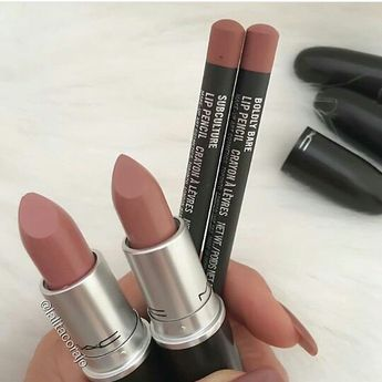 """Lipstick colors are """"pretty natural"""" and """"blankety"""""""