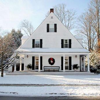 48+ Rural Farmhouse Exterior Design Ideas