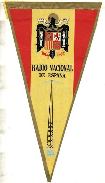 Old QSL cards and Letters from various radio stations.