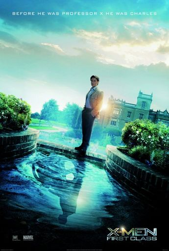 X-Men : First Class #movie #poster