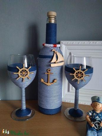 Zsinóros boros szett, tengerész (gervera