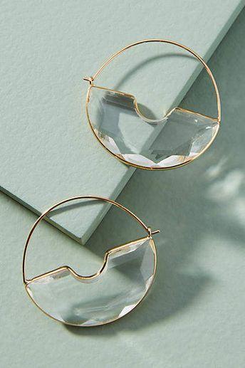 Temperance Hoop Earrings