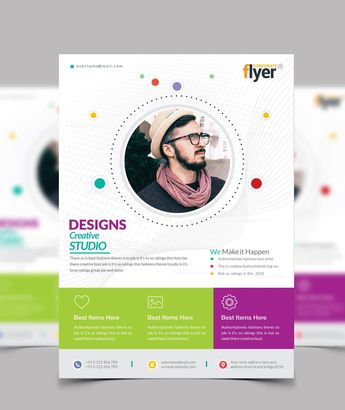 Creative Business Flyer Designs - Graphic Templates