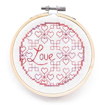 Blackwork of the Heart collection