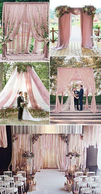 35 Trendy & Romantic All-Time Dusty Rose Wedding Ideas