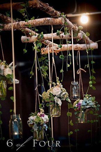Style de mariage rustique est doux, réconfortant et créatif rempli de tex organique