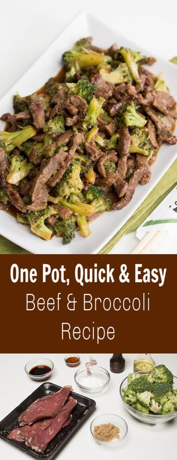An easy and quick dish that can be placed over any of your favorite grains, and since it is one pot it means pretty much no clean up for you. #momsdish #easyrecipe #quickrecipe #easydinnerrecipe #quickdinnerrecipe #familydinnerideas #beefandbroccoli #asianinspired #onepotrecipes