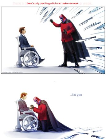 The X men first class - Weakness by =maXKennedy on deviantART   ~ I like this. ~S