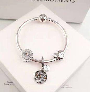 Pandora family tree charm bracelet