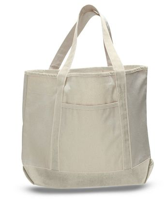 335ed1024b97 Extra Large Heavy Canvas Boat Tote Bags