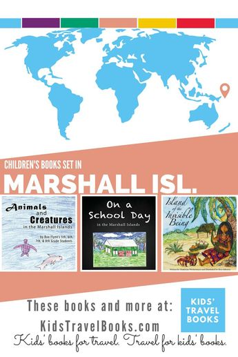 Children's books Marshall Islands- Kids Travel Books - Great books for studying Oceania with kids.