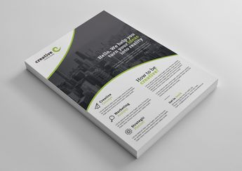 Warsaw Elegant Professional Business Flyer Template - Graphic Templates