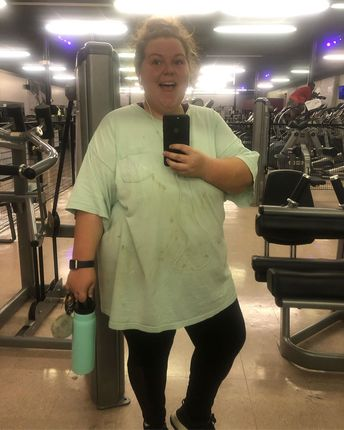 Im BACK   Heres the tea. July sucked. I havent lost any weight and I havent gained any weight. I ended June in a funky head space that really messed up my focus. Truth is no one is perfect and no journey is perfect. So today 7 months into my weight loss journey and -57lbs I joined the gym. I needed a refresh and boy did I find it. 45 minutes of cardio and I AM DEAD. Thank you for everyone who has been so encouraging. If you are hesitant about starting or restarting DO IT. Its your life and you w