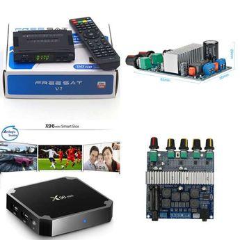 Aiyima 2PCS MX50 SE 100WX2 Dual Channels Audio Power amplif