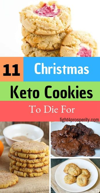 11 Delicious Keto Cookies to Make This Christmas! -