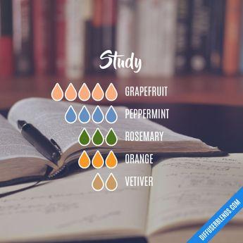 Study - Essential Oil Diffuser Blend