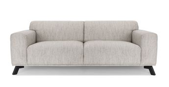 Incredible White Tufted Sofa 3 Seater Upholstered Article Parker Pdpeps Interior Chair Design Pdpepsorg