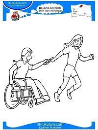 Engelliler Haftası Boyama Sayfası