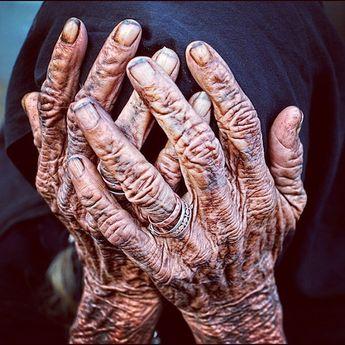 Agony, #Bhuj #Gujarat #India #Old #Woman #Wrinkles