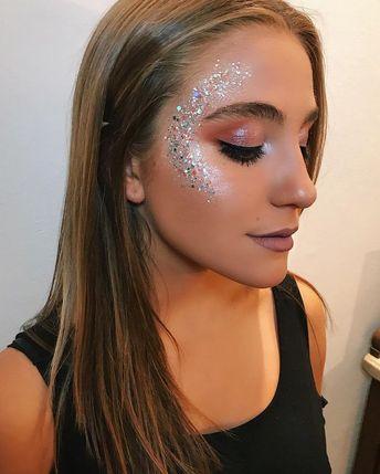 Bild könnte enthalten: 1 Person, Nahaufnahme #maquillaje #makeup
