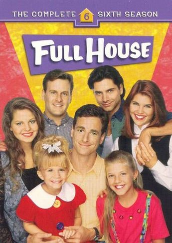 Full House: The Complete Sixth Season [4 Discs] [DVD]