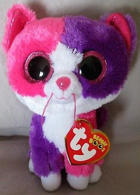 Ty 19203  Pellie The Cat - Ty 6 Beanie Boos - New With Mint Tags e22b1f5c1a36