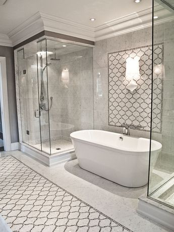 Custom Mosaic Bathroom
