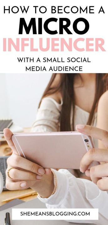 Become a micro influencer and earn a living online! Ever wanted to be a micro influencer on a social media platform like Instagram or Facebook? Click to find out how to become a micro influencer and make money online with a small social media following. #influencermarketing #marketing #bloggingtips #bloggers #socialmedia