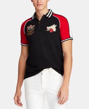 65% Cotton 8-oz Trim Custom Logo Polo Shirts 49d3c4495ee