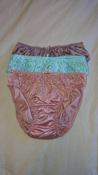 c381b239a6 3 x Silky Hipster Bikini Panties by Jintana Lingerie (size 10 Aus UK