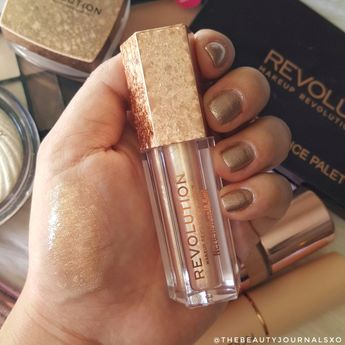 Makeup Revolution Jewel Collection Lip Topper Swatches and Review - thebeautyjournalsxo.com - IG: @thebeautyjournalsxo