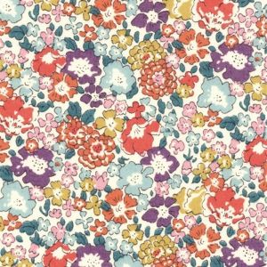 Tissu Liberty - Michelle Multicolore x10cm