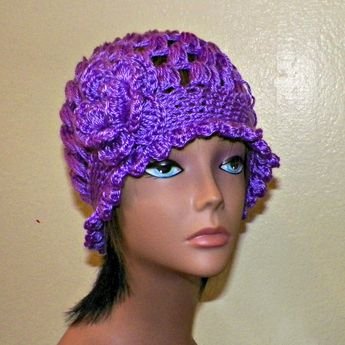 1eb6cca67 Cotton Beret Hat Yellow Summer Slouchy Crochet Womens Tam