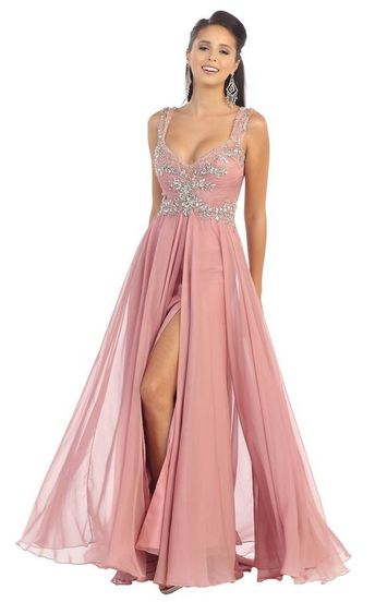af446a7d3300 Long Prom Plus Size Dress Formal Gown