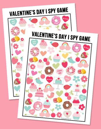 17 Quick + Easy Valentines Day Games Your Kids Will Love via Brit + Co