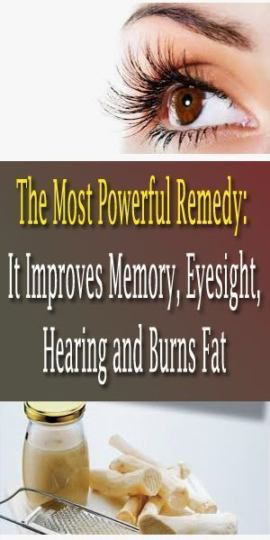 The Most Highly effective Treatment: It Improves Reminiscence, Eyesight, Listening to and Burns Fats