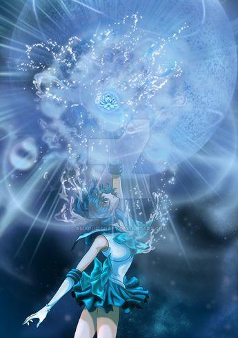 Sailor Mercury Shiny Crystal Power: The Mercury by AmarineCraft on DeviantArt
