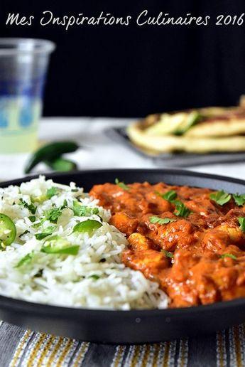 Poulet Massala recette indienne