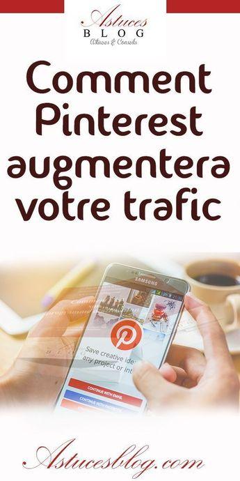 Si tu es une entreprise B2C ou B2B ou un blogueur et que tu n'as pas considéré Pinterest comme une source de trafic viable pour ton site Web, tu manques une énorme opportunité de marketing.   Voici des astuces à utiliser pour augmenter le trafic di votre site Web à partir de Pinterest. #pinterest #pinterestmarketing #astucespinterest