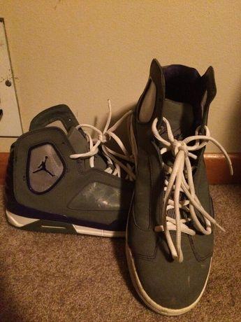 Nike Air Jordan Flight Luminary Gray Purple Men s Size US 10.5 Shoes 551820  019  fashion ce45efb47