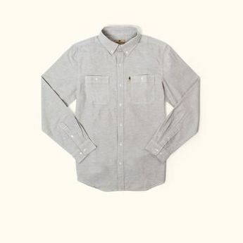 Harbor Chambray Shirt | Augustine Grey