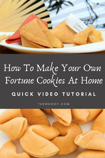 How To Make Delicious Fortune Cookies At Home | The WHOot