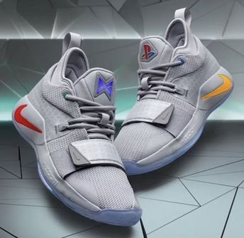 Nike PG 2.5 PlayStation Wolf Grey Size 13 DS 100% Authentic  fashion   clothing 0362793bd526a