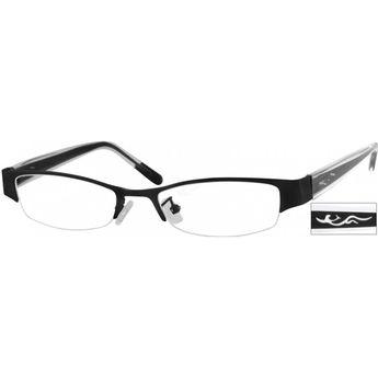 3c195e88a5f3 Zenni Womens Vintage Cat-Eye Prescription Eyeglasses Black