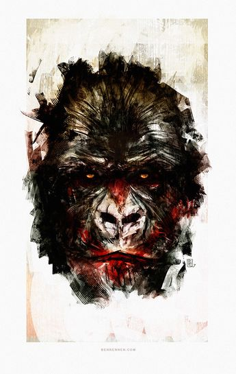 Dawn of the Planet of the Apes on Behance