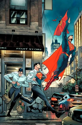 Superman by Jorge Jimenez. For similar content follow me @jpsunshine10041
